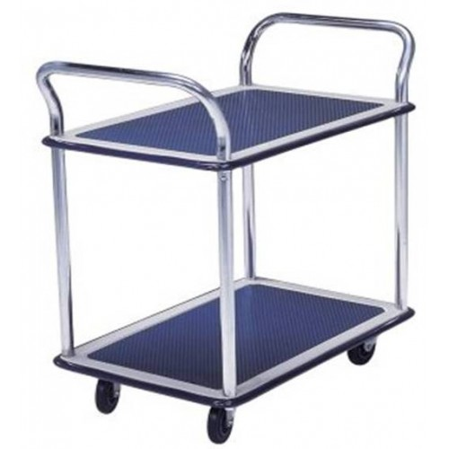 Hand Trolley Dual Handle Dual Table (NF-304)